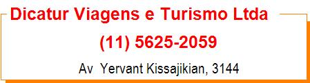 Dicatur Viagens e Turismo Ltda