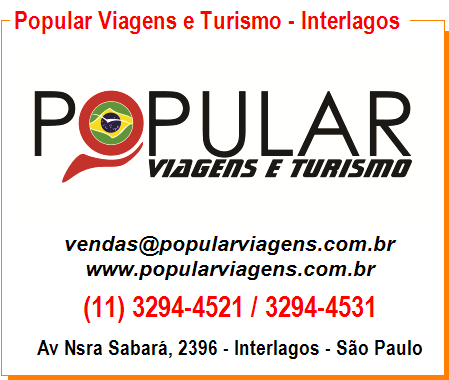 Popular Viagens e Turismo - Interlagos