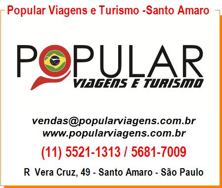 Popular Viagens e Turismo - Santo Amaro
