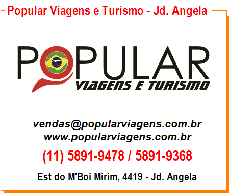 Popular Viagens e Turismo - Jd. Angela