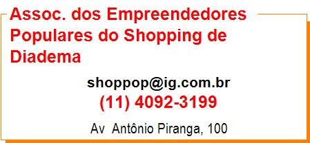 Assoc. dos Empreendedores Populares do Shopping de Diadema