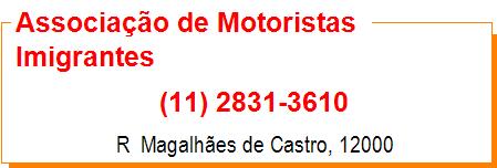 Associação de Motoristas Imigrantes